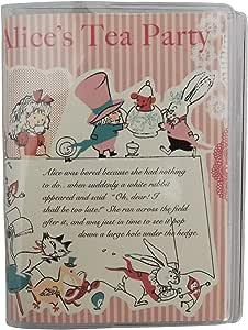 Shinzi Katoh 口袋卡片夹 Alice's tea party PCF2023