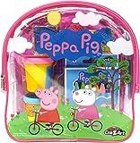 Cra-Z-Art Peppa Pig 终极活动背包积木套装,颜色随机