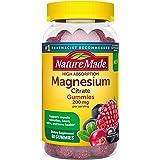 Nature Made 高吸收柠檬酸镁软糖,200毫克 60 Count (Pack of 1)
