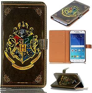 独特图案纤薄钱包卡翻转支架 PU 皮革保护套三星 Galaxy Note 5 - 酷炫的馈赠佳品4326833672 Antique Book Style