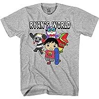 Mad Engine Ryan's World Team Gathered 男童儿童 T 恤*
