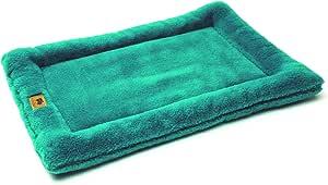 "West Paw Design Montana Nap with IntelliLoft 纤维和填充耐用轻质垫,适合狗狗和猫咪,美国制造 宝石色 XL-42""X27"""