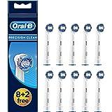 Oral-B 欧乐B 精密清洁成人电动牙刷替换刷头,包含10支刷头