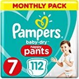 Pampers 女宝宝干裤尺码睡裤,月盒,带空气通道
