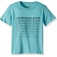 Calvin Klein 男童圆领 T 恤