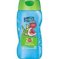 Suave for Kids 2 合 1 洗发水 12 液体盎司(355 毫升) Wild Watermelon 12 盎司