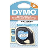 "DYMO Labeling Tape, LetraTag Labelers, Plastic, 1/2""x13'"