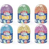 Educational Insights Playfoam Pals 野生动物惊喜蛋和泡沫泥雪花泥,6件装