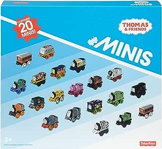 Fisher-Price Thomas & Friends 迷你玩具,20只装,超级车站+ 迷你玩具