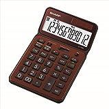 夏普 计算器 50周年纪念款 奈斯尺码模型 EL-VN82 棕色