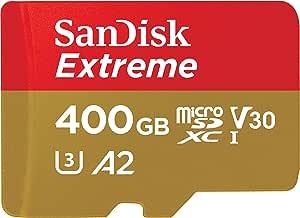 SanDisk 闪迪 Extreme microSDXC 储存卡 400 GB