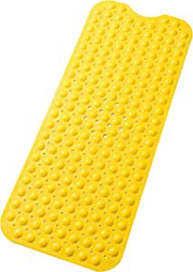 Tike Smart 优质浴缸垫 - 长,超长 不透明黄色 两个 XL