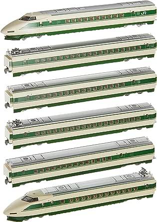 TOMIX N轨距 200系 东北新干线 H编组 基本套装 98603 铁道模型 电车