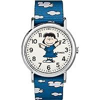 Timex 天美时 男士TW2T29200 Weekender 尼龙防滑表带手表