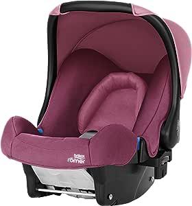 Britax 宝得适 Römer Baby-Safe 婴儿提篮,年龄组0 +(出生 – 13公斤) Wine Rose