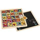 B. Puzzle Plank, Magnetic Alphabetic