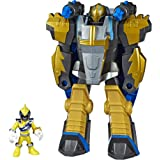 PlaySkool Heroes Power Rangers Morphin Zords Gold Ranger & P…