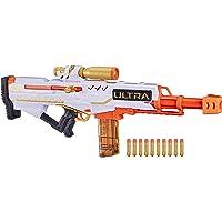 NERF Ultra Pharaoh 玩具枪,带高级金色点缀,10 个飞镖夹,10 个飞镖,螺栓动作,仅兼容 Ultra…