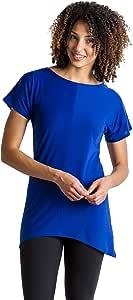 ExOfficio 女士 Wanderlux 交叉背休闲短袖衬衫