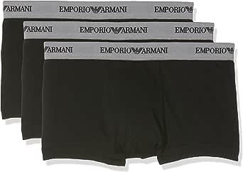 Emporio Armani Men's Cc717-111357 Boy Short, pack of 3