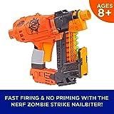 NERF 热火 Nailbiter Nerf Zombie Strike玩具冲击波– 8枚Nerf Zombie Strike精英飞镖,8-索引弹夹–生存系统–适用于儿童,青少年,成人