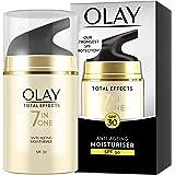 Olay 玉兰油 Total Effects 7合1抗老化保湿霜,SPF30,含烟酰胺,维生素C和维生素E,50毫升