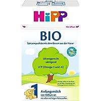 Hipp 喜宝 Bio 1段 婴儿配方奶粉 适合新生儿 0-6个月 4 x 600 g