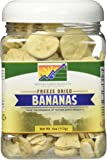 Mother Earth Products Freeze Dried Bananas, Quart Jar