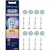 Oral-B 欧乐B Sensi UltraThin 正品白色电动牙刷替换型刷头,可清除牙龈上坚韧不拔的牙菌斑(多包装/大包装8支)