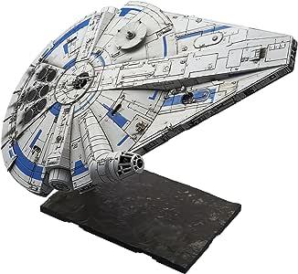 Bandai Hobby 星球大战 1/144 塑料模型千年猎鹰(兰多卡里斯版) Solo:星球大战故事