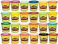 Hasbro 孩之宝 Play-Doh 培乐多 复合24色彩盒,无害,多色,3盎司(约85.05克),罐装,适合2岁及以上的人群(Amazon Exclusive)