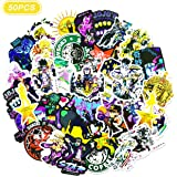 Ting Art 50 张 JoJo 的奇妙冒险贴纸防水乙烯基贴纸