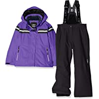 CMP Feel 保暖平底鞋 5.000 39w1995 女童夹克和裤子套装,女孩'39W1995