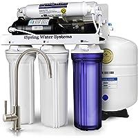 美国品牌 iSpring 爱诗普霖 家用反渗透净水器5级厨房直饮纯水机RCC7P