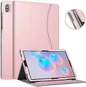 Fintie 三星 Galaxy Tab S6 手机壳,10.5 英寸 2019(型号 SM-T860/T865/T867),[*S笔槽设计]多角度观看支架盖