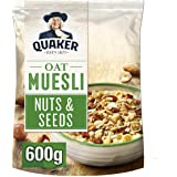 Quaker 桂格 燕麦坚果和种子麦片, 600 克 (4件装)