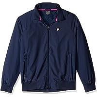 Emporio Armani EA7 男士训练性能与时尚绿俱乐部夹克