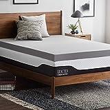 LUCID 10.16 厘米竹炭*泡沫床垫罩 - 单人床 XL