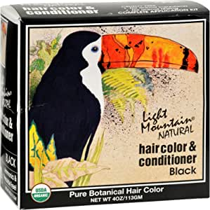 Hair Color & Conditioner-Black Light Mountain 4 oz Powder