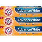 Arm & Hammer 高级白色**,防污,清新薄荷味 3 Pack