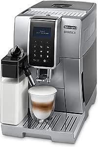 De'Longhi 德龙 Dinamica 全自动 咖啡机 豆到杯,卡布奇诺,浓缩咖啡机,ECAM 350.75.S,银