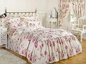 Dreamscene 奢华串珠盖被套装 Elizabeth Natural 各种尺寸 粉红色 157 x 59 x 210 cm ELIZNA1006