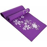 KANSOON 凯速 8MM加厚防滑印花瑜伽垫 高密度高品质瑜伽毯 带手提包 (典雅紫)