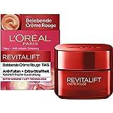 L'Oréal Paris 巴黎欧莱雅 Revitalift Crème Rouge 复颜抗皱紧致滋润霜,针对疲倦肌肤和双眼,50ml