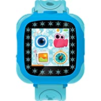 Lexibook Disney 冰雪奇缘 Elsa,带摄像头的智能手表,0.3MP,触摸屏,可充电电池,蓝色,DMW10…