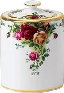 皇家阿尔伯特旧乡村玫瑰 0.5 升茶壶,白色