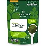 Navitas Organics 小麦草果汁粉,袋装,56份-Non-GMO,冻干,无麸质,1盎司,28克