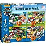 Ravensburger 06936 狗狗巡逻队拼图 12/16/20/24 单盒4件装,单号