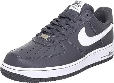 Nike 耐克 运动生活系列男子AIR FORCE 1 '07 LE运动鞋 488298018 深灰/白 42.5 (US 9)