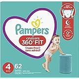 Pampers 尿布 - Cruisers 360 度度一次性婴儿尿布,带弹性腰带,*包装 Cruisers 4 62